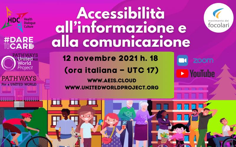 Accessibilità all'informazione e alla comunicazione