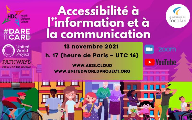 Accessibilité à l'information et à la communication